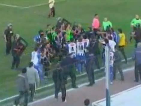 Piden prisión por riña para 11 jugadores de Cerro y Cerro Largo