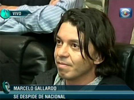 Gallardo se fue de Nacional para reencontrarse con su familia