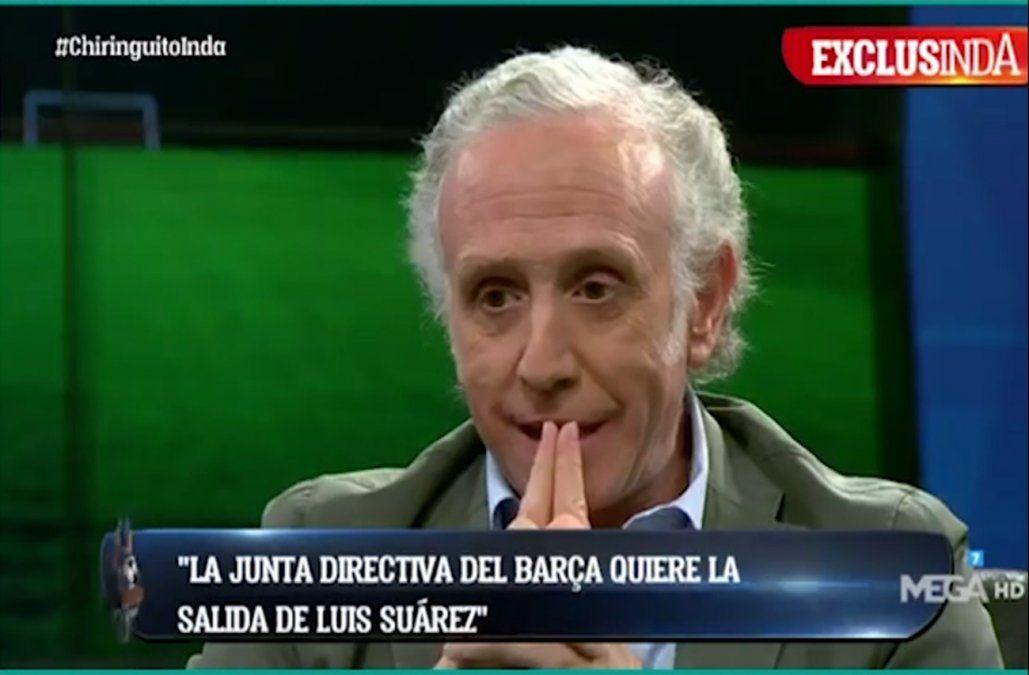 Periodista español asegura que directivos de Barcelona quieren echar a Suárez