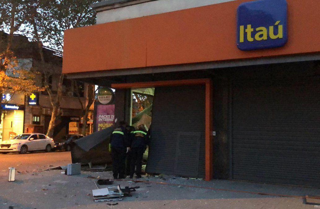 Explotaron otro cajero automático en Rivera y Gabriel Pereira