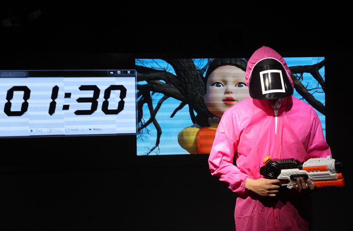 El juego del calamar causa furor en China pese a no estar disponible