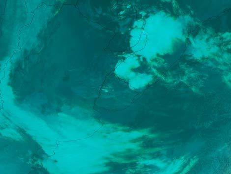 Jueves otoñal previo a la ola de frío polar