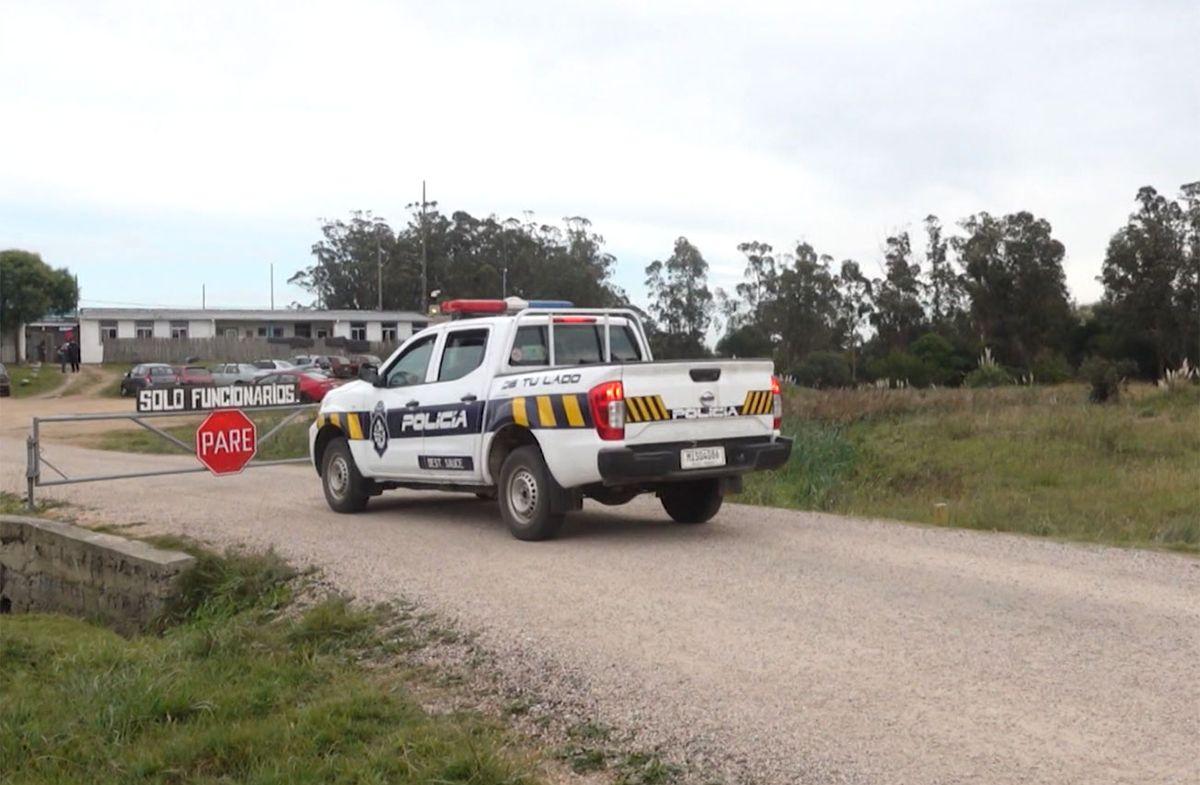 Buscan a un recluso que se fugó de la cárcel de Las Rosas en Maldonado