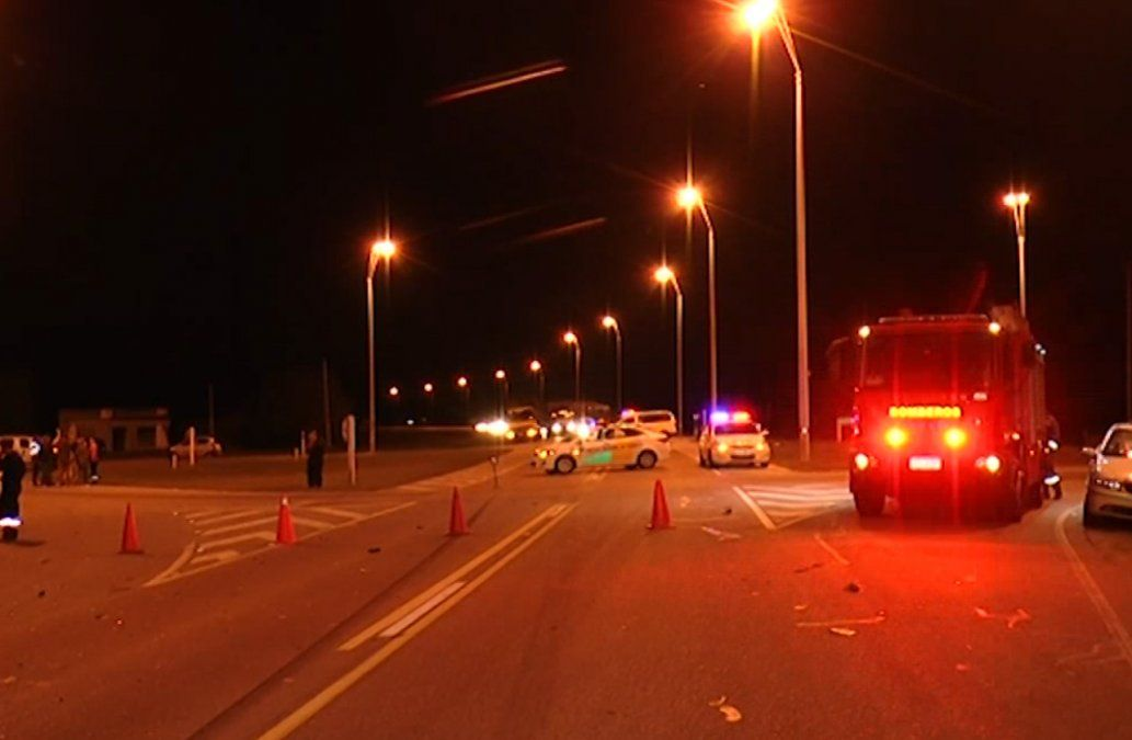 Tres fallecidos y un herido grave en un siniestro de tránsito múltiple en rutas 6 y 11