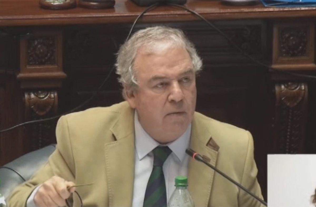 Luis Alberto Heber en el Senado