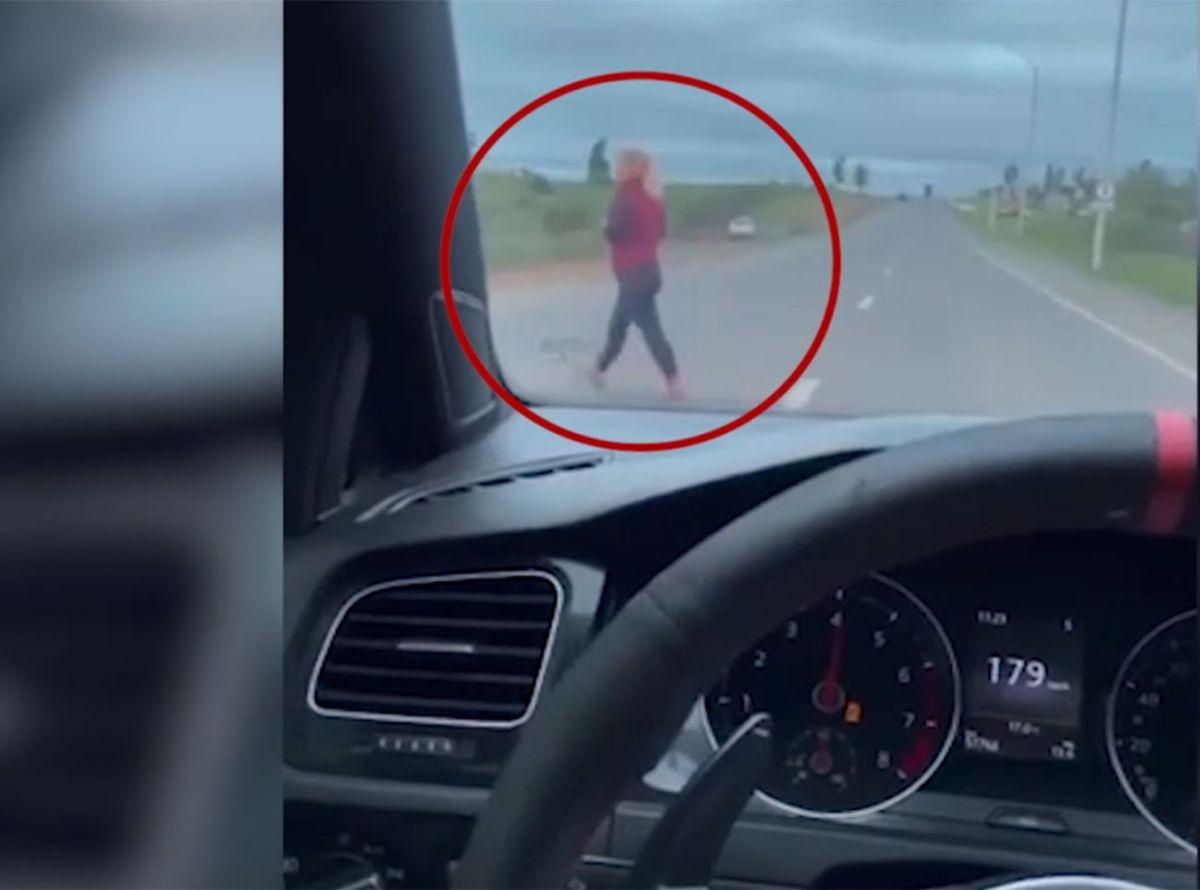 Testimonio de la mujer que casi fue atropellada por un conductor que manejaba a 220 km/h