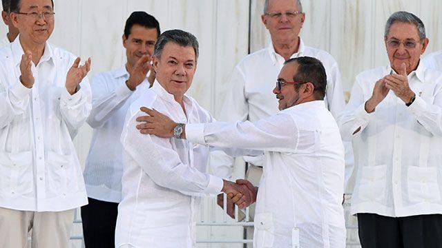 Paz en Colombia:  grupo guerrillero FARC va a indemnizar a sus víctimas