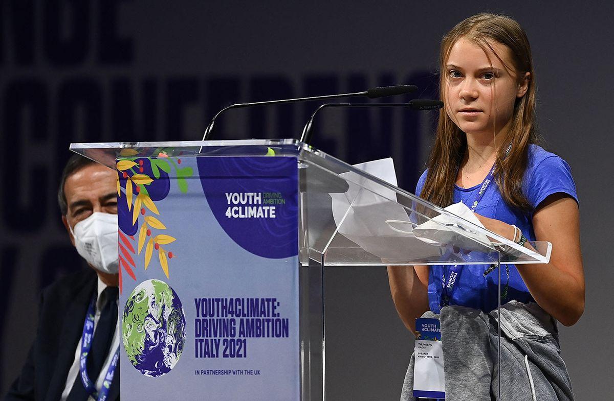 Greta Thunberg denuncia 30 años de bla bla sobre el clima