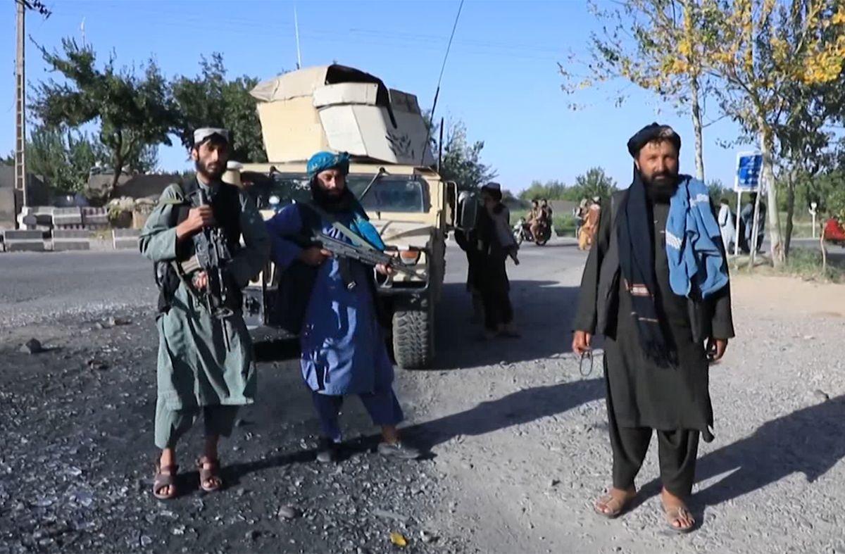 Talibanes. Foto: AFP archivo.