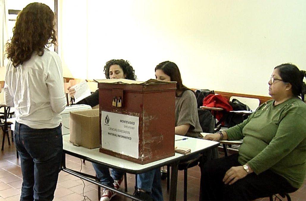 Con voto obligatorio, se realizan este miércoles las elecciones universitarias