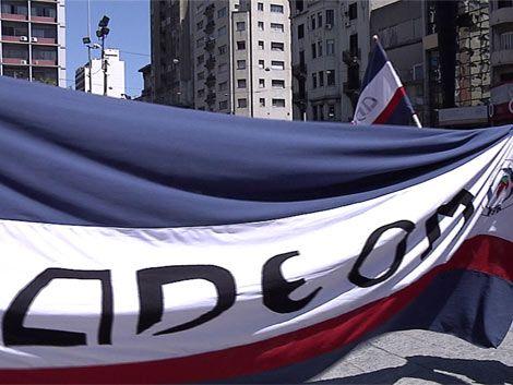 Nuevo paro de ADEOM este miércoles en Montevideo