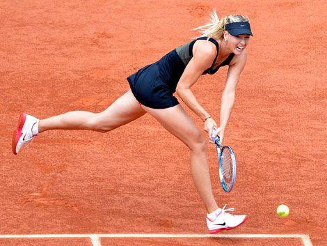 Sharapova se coloca en semifinales por tercera vez