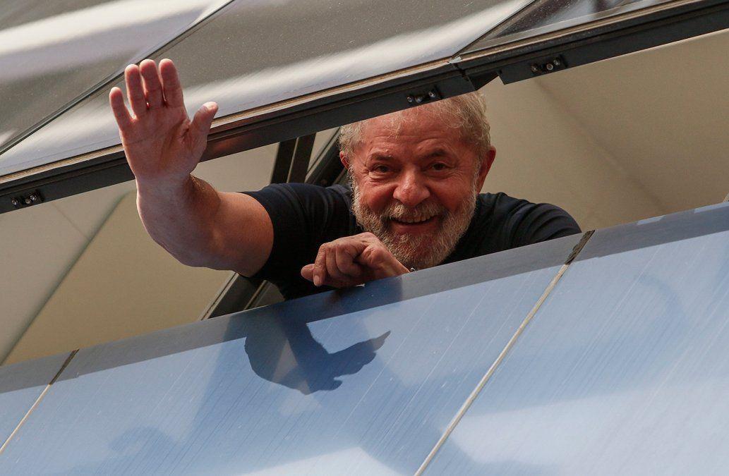 Estoy tranquilo pero indignado, primer mensaje de Lula desde la prisión