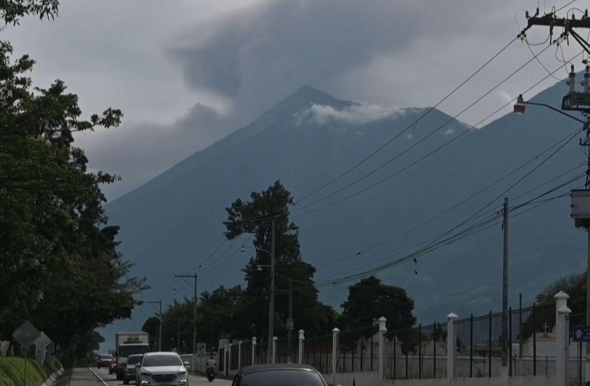 Cesó la erupción del Volcán de Fuego en Guatemala