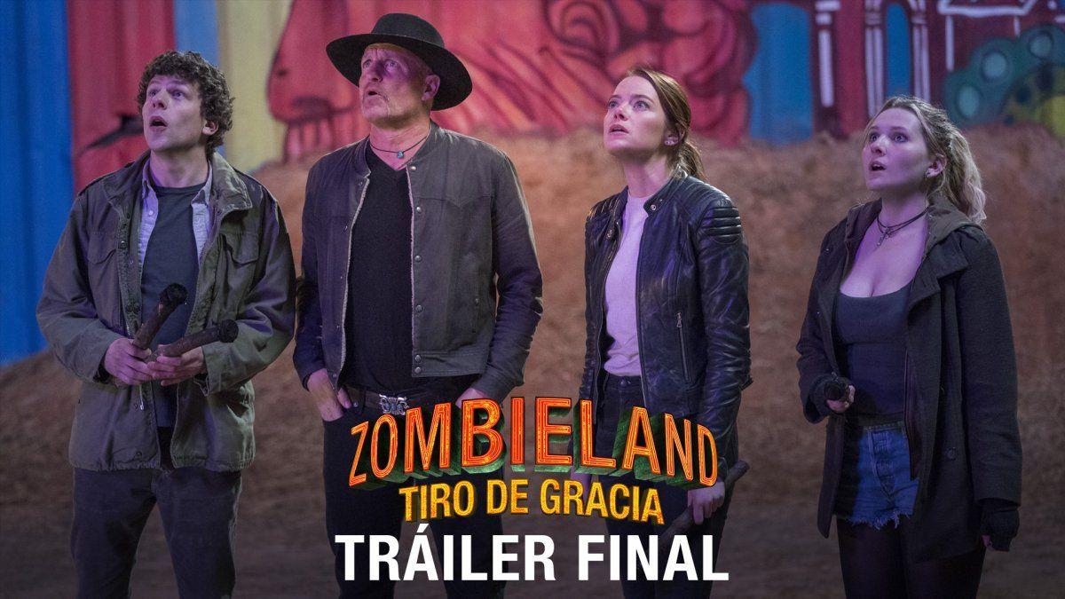 Te mostramos el nuevo tráiler de Zombieland: Tiro de Gracia