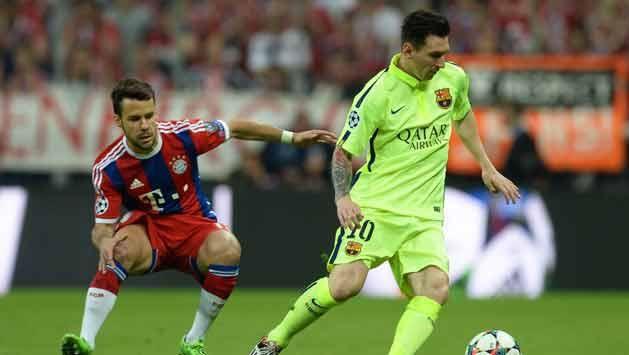 Bayern 3 Barcelona 2 por un lugar en la final de la Champions