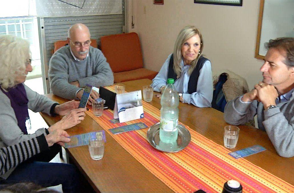 Lacalle comprometió el presupuesto necesario para continuar la búsqueda de desaparecidos