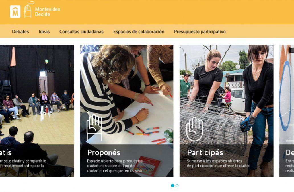 Montevideo Decide: plataforma digital para incidir en las acciones de la Intendencia