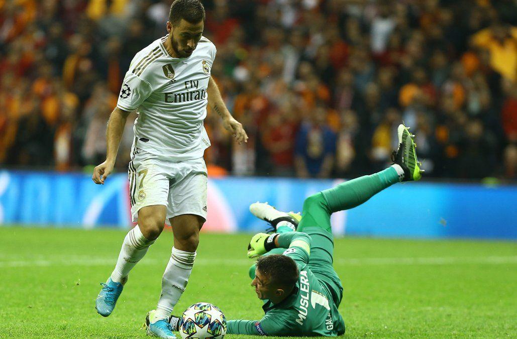 El Real Madrid de Valverde le ganó 1-0 al Galatasaray de Muslera por Champions