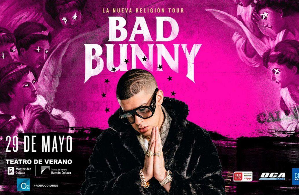 Cambio de fecha del show de Bad Bunny en el Teatro de Verano