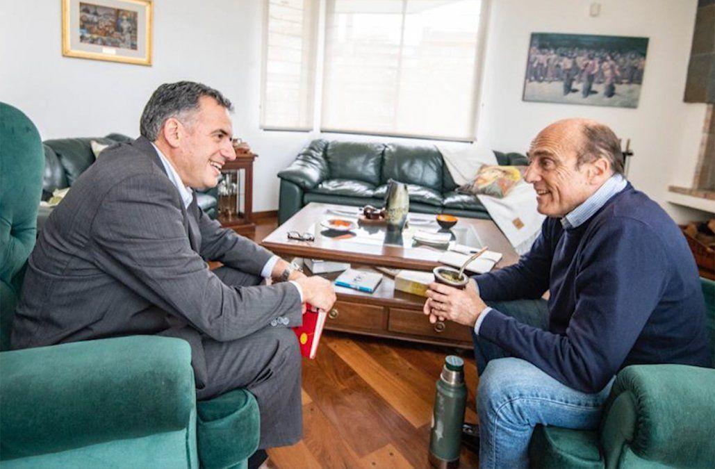 Martínez y Yamandú Orsi comenzaron a delinear la campaña para el balotaje