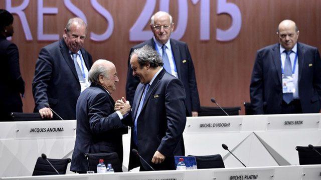Blatter fue reelecto presidente y dijo que mejorará la imagen de la FIFA
