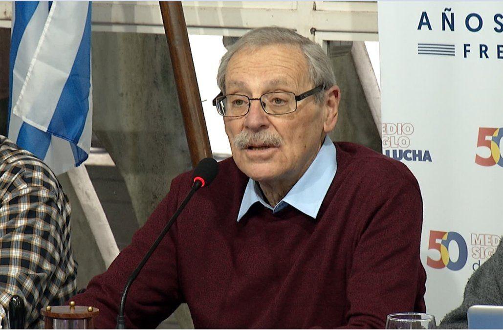 Ricardo Ehrlich asumió la coordinación del Frente Amplio en lugar de Javier Miranda