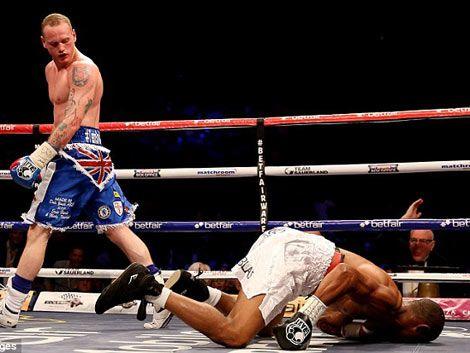 El boxeador uruguayo Noé González cayó en Inglaterra