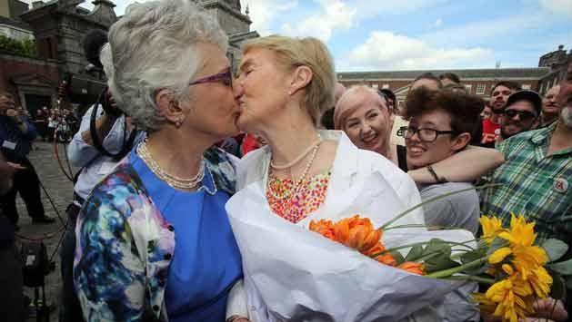 Histórico: Irlanda dijo sí, quiero a las bodas homosexuales