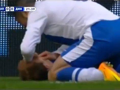 Jugador salva la vida a su rival que se estaba por asfixiar