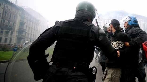 Violentos disturbios en la apertura de la Expo de Milán 2015