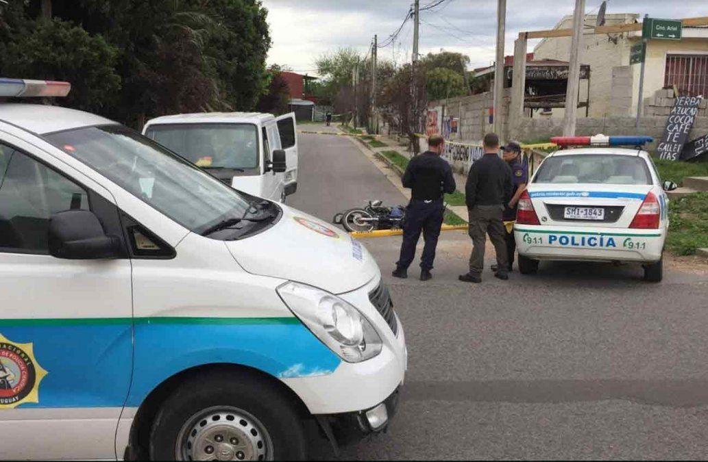 Rapiñero fue abatido por policía que trabajaba como repartidor