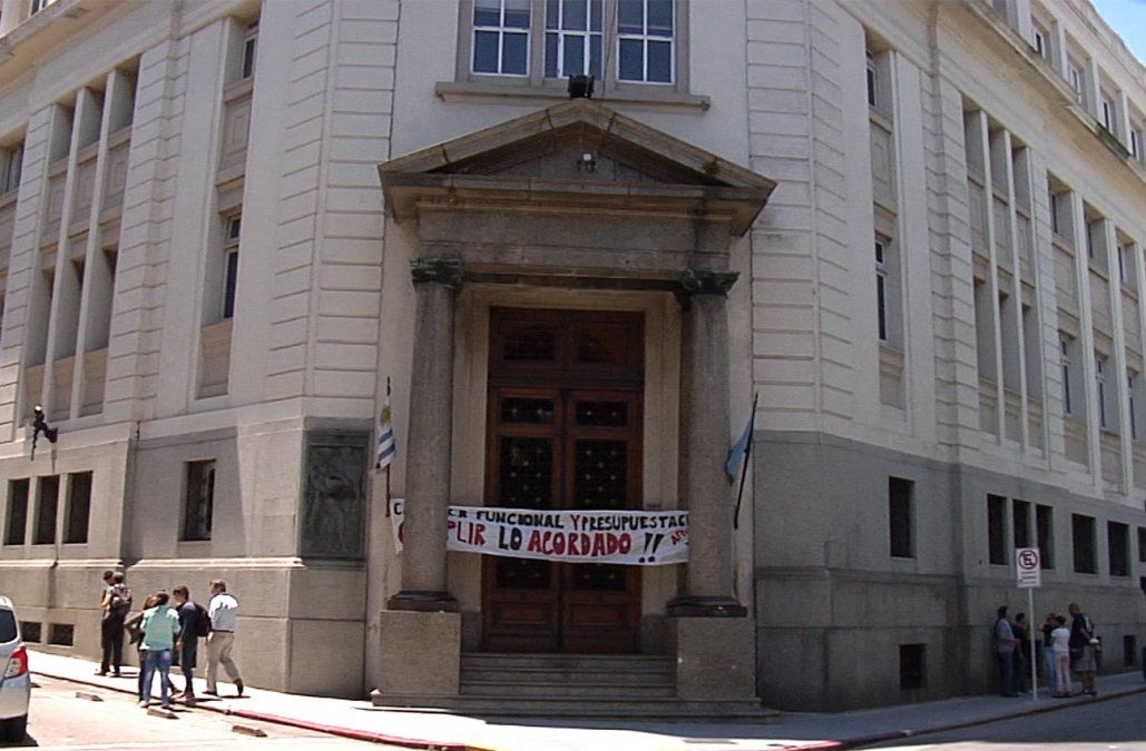 FOTO: el sindicato ocupó las oficinas centrales de El Correo el 20 de diciembre.