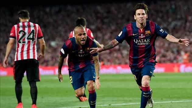 Con goles de Messi y Neymar, Barcelona es campeón de la Copa del Rey