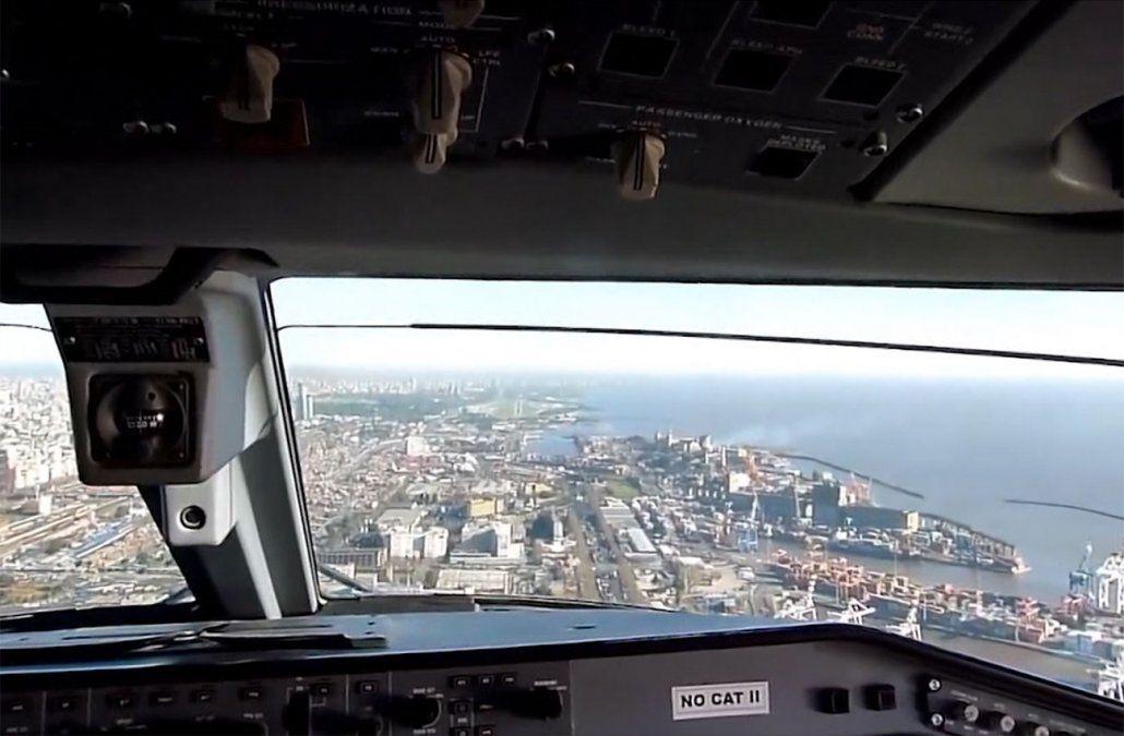 Al menos 120 vuelos afectados en Buenos Aires, pero por causas climáticas