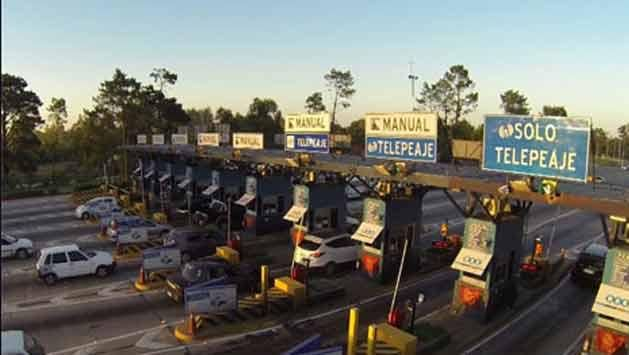 Tras robo, peajes abiertos en todo el país este domingo de 17 a 22 horas