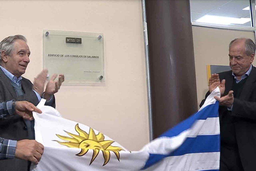 Designaron con el nombre Edificio de los Consejos de Salarios a sede ministerial