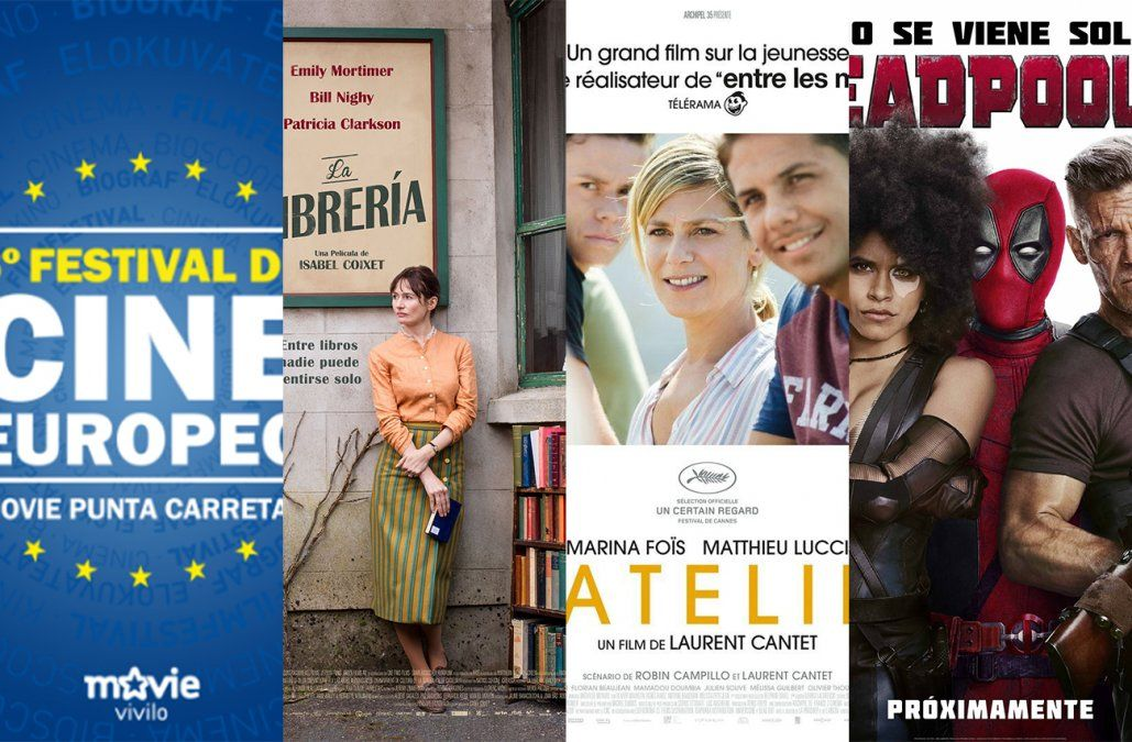 Festival de Cine Europeo y estrenos del fin de semana