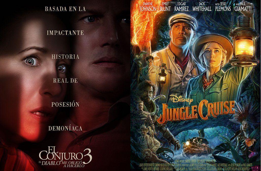 El conjuro 3 y Jungle Cruise, los estrenos para ver en el cine