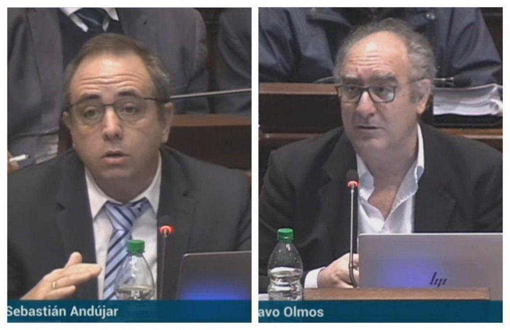 Diputados Sebastián Andújar y Gustavo Olmos
