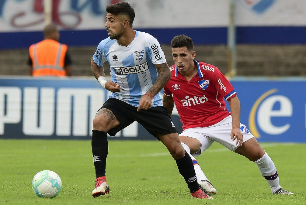 Nacional y Cerro empataron 2 a 2 en el Tróccoli por el Intermedio