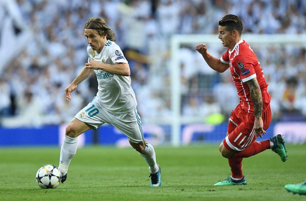 Revancha semifinal entre Real Madrid y Bayern Münich desde 15.45