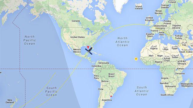 Siga en vivo la ruta de la nave rusa sin control que caerá en la Tierra