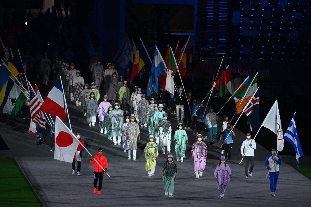 Desfile Ceremonia de Clausura Tokio 2020