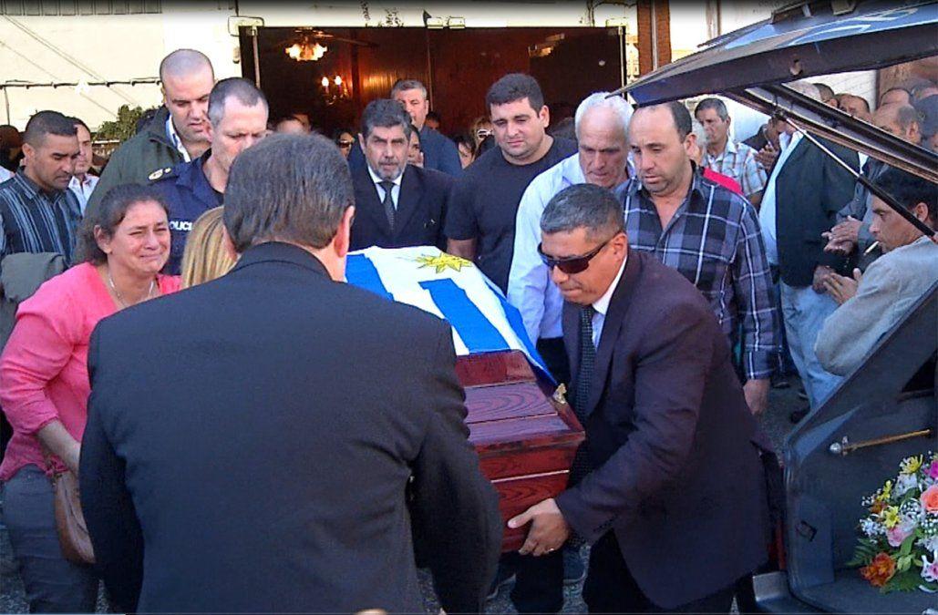 El último adiós a Agustín Silva, el policía asesinado en Progreso