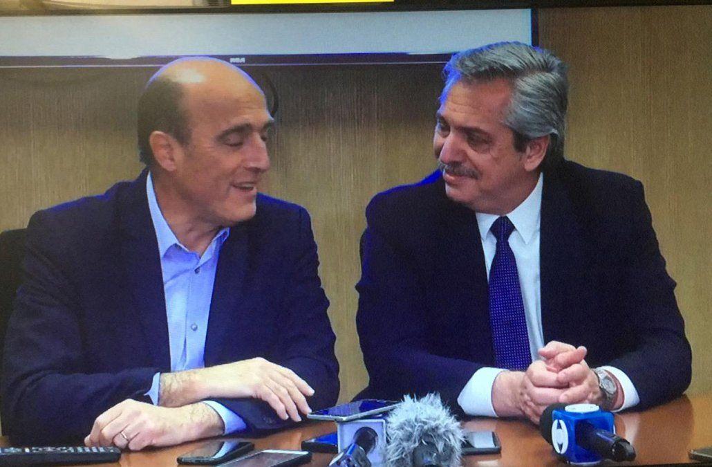 Alberto Fernández elogió al FA y dijo que quiere copiar sus 15 años de gobierno