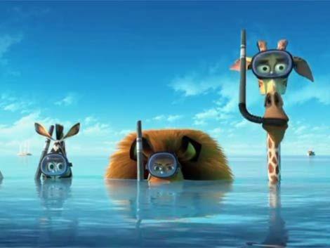 Madagascar en 3D promete romper la taquilla