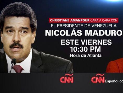 Maduro a CNN: la prensa internacional es bienvenida en Venezuela