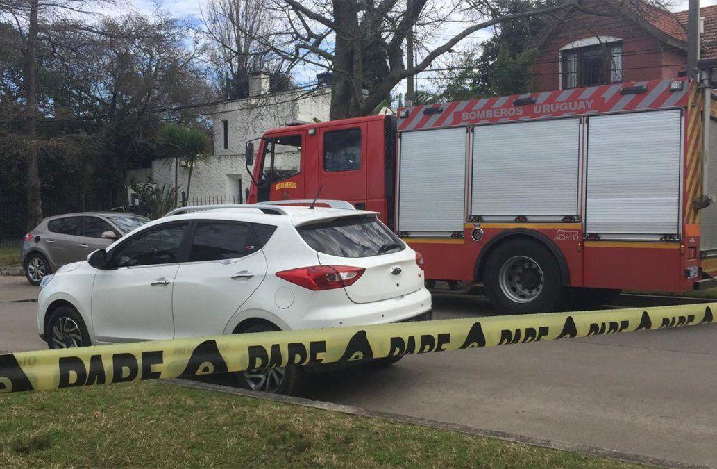 Un fallecido y diez evacuados tras incendio en residencial de ancianos de Carrasco