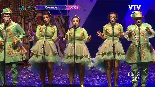 Cyranos, La Buchaca, Yambo Kenia y Diablos Verdes en el Teatro de Verano